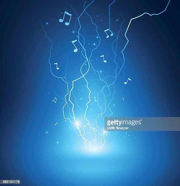 music background - storm stock illustrations