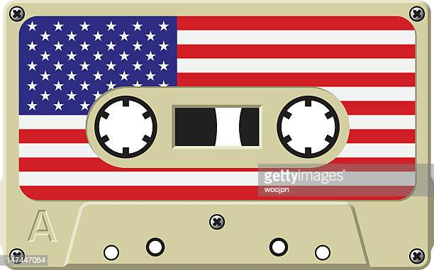 US music cassette tape
