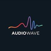 Music concept Audio wave, Audio Technology