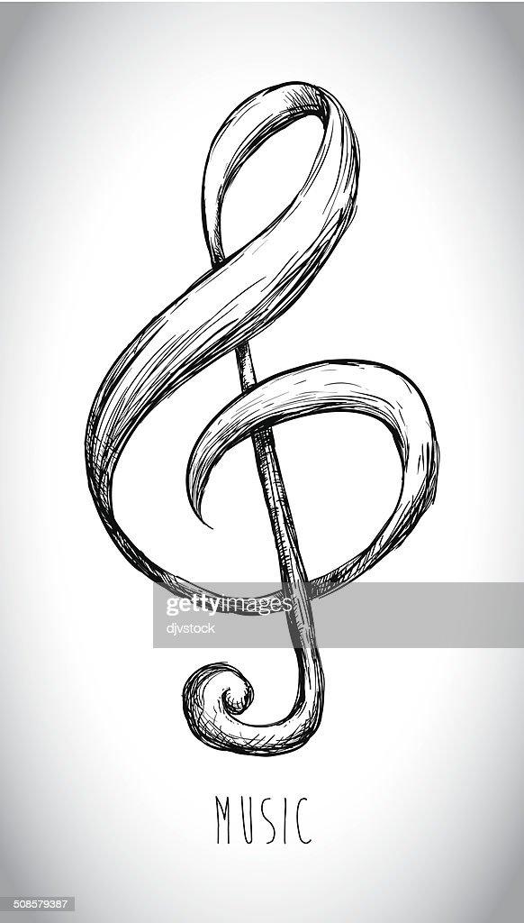 Music design : Vector Art