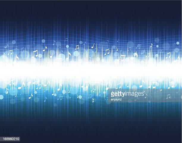music equalizer background - frequency stock illustrations