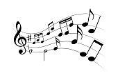 Music flying