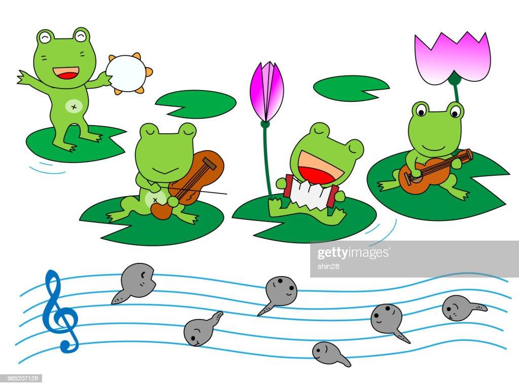 music frog