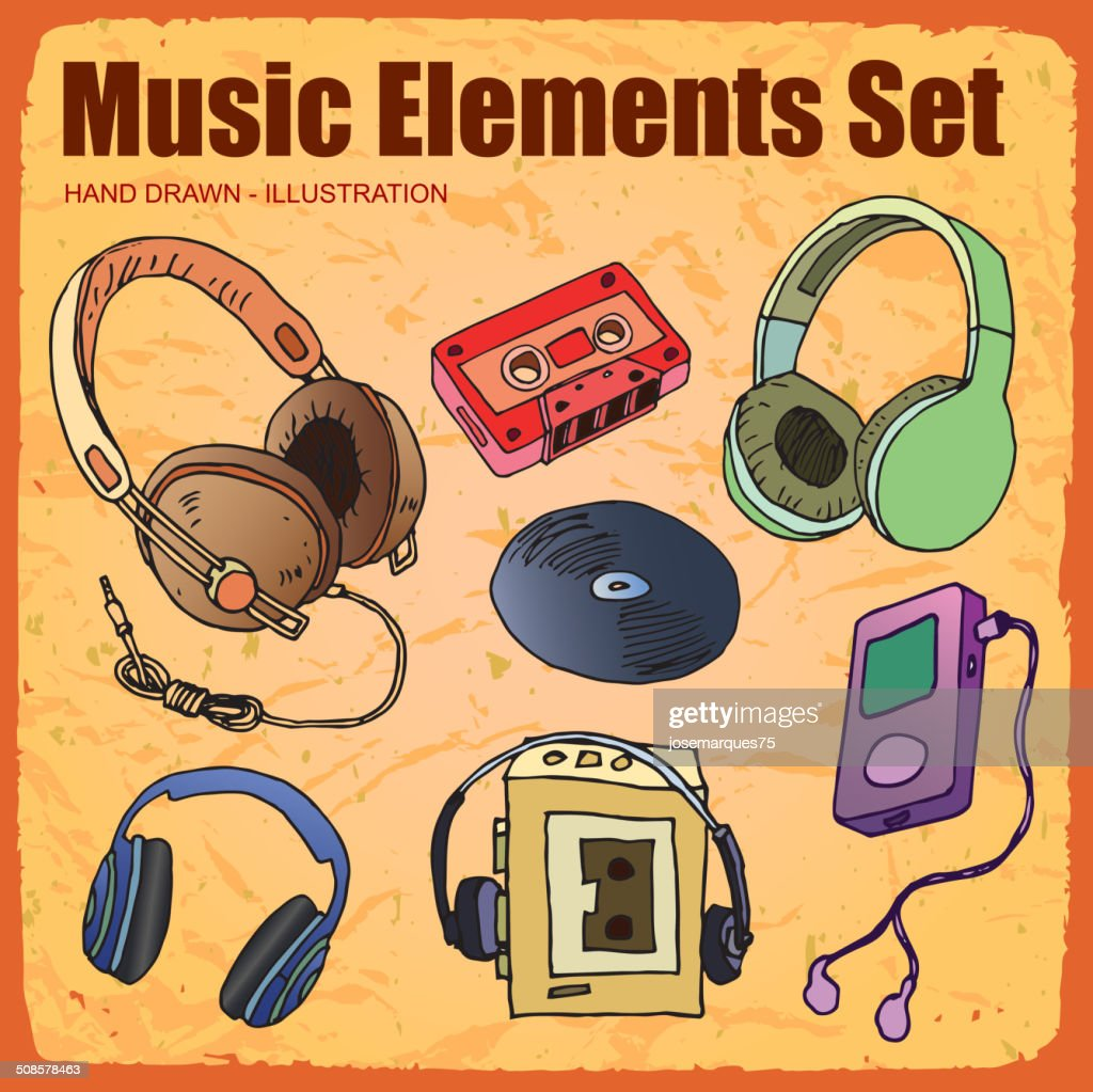 Music Icon set : Vector Art