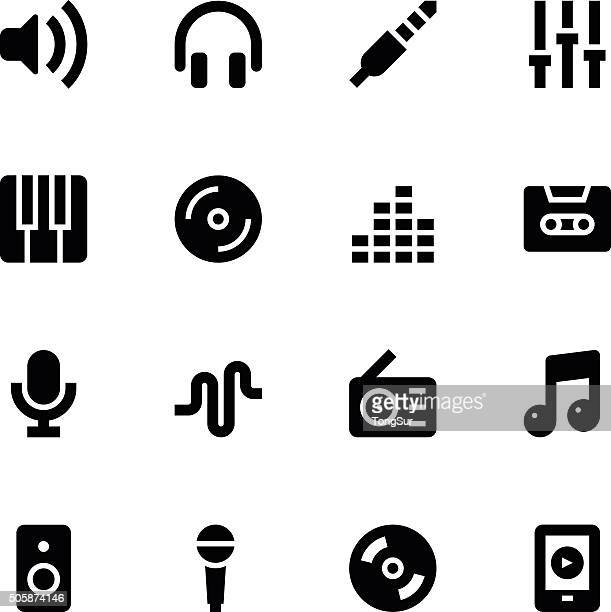 Music icons - Medium