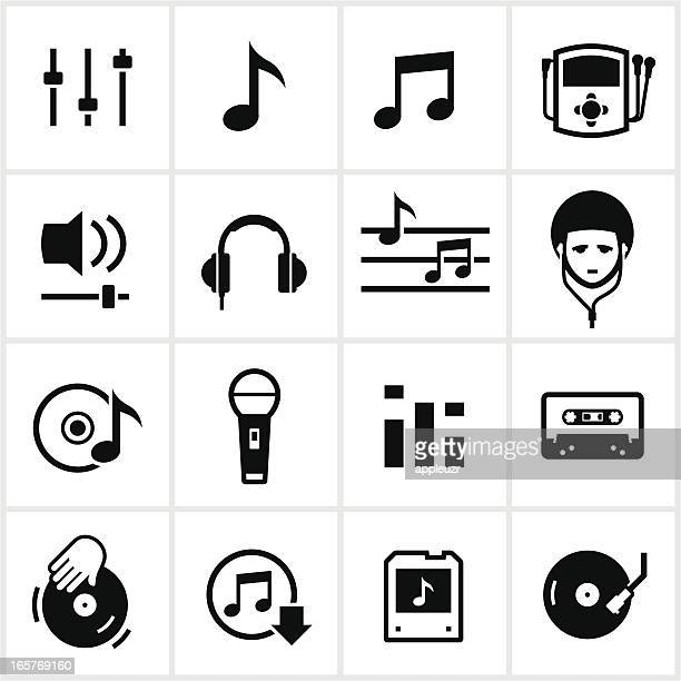 music icons - sheet music stock illustrations, clip art, cartoons, & icons