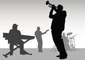 Music jazz