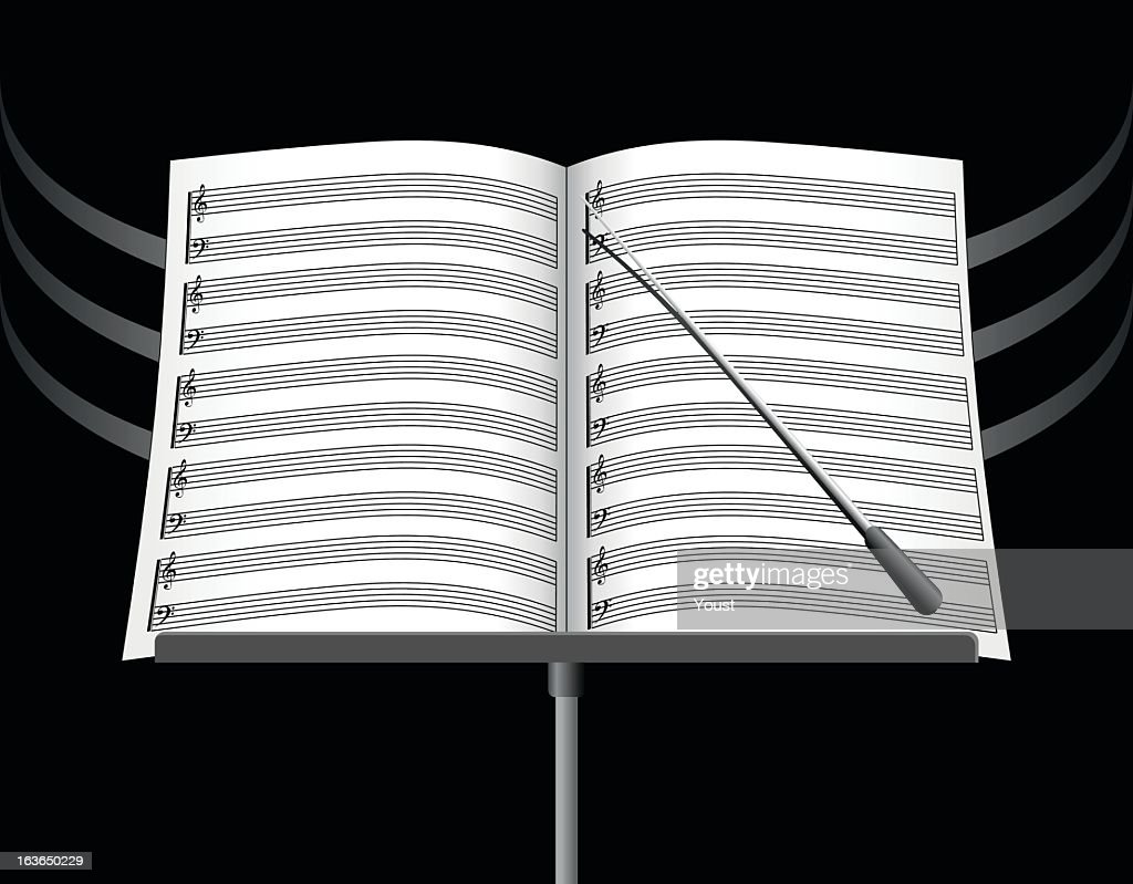 Music Note Sheets : stock illustration