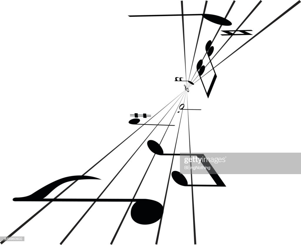 Music Note : stock illustration