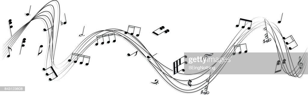 Music Note : stock illustration