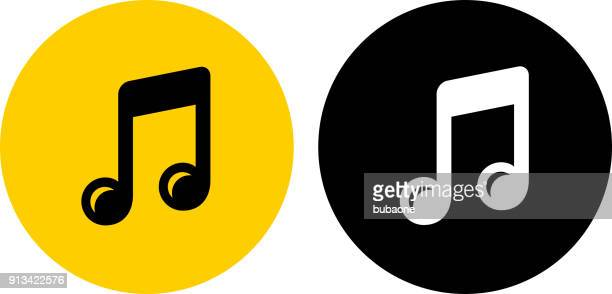 music note. - musical note stock illustrations