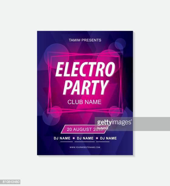 Musik Party Flyer Vorlage