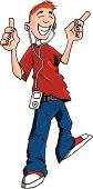 Music player teen