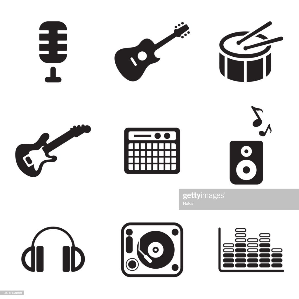 Music Studio Icons