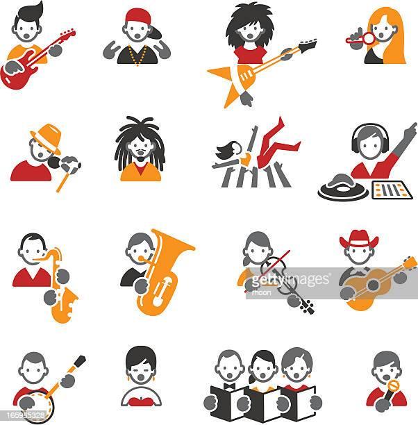 ilustrações de stock, clip art, desenhos animados e ícones de estilos de ícones de música. - reggae