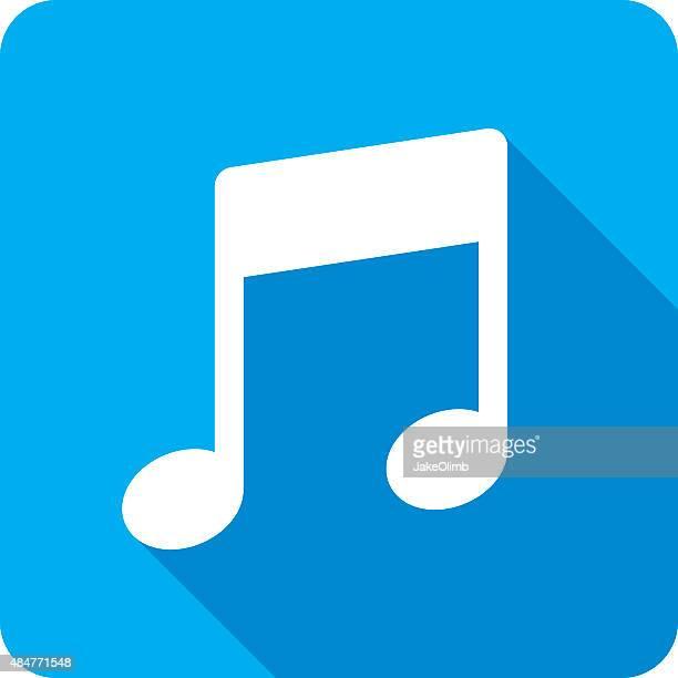 Music Symbol Icon Silhouette