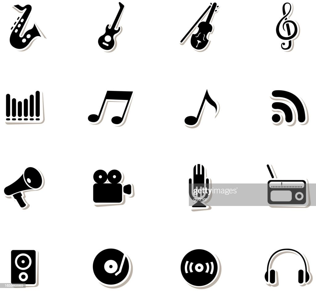 Music Symbols Vector Art Getty Images