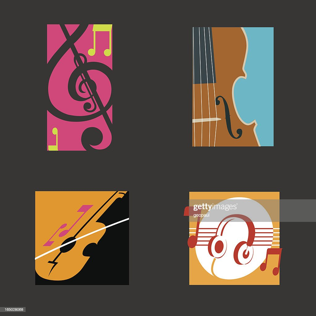 Music symbols vector vector art getty images music symbols vector buycottarizona Gallery