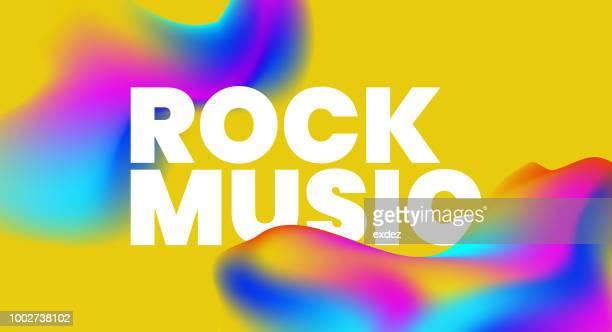 Music text background design