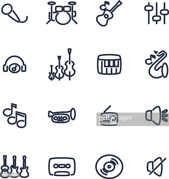 music - drum percussion instrument stock illustrations, clip art, cartoons, & icons