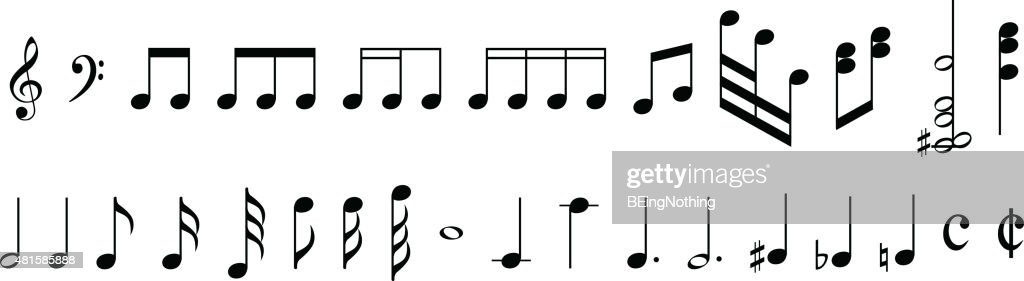 Musical abstract background : stock illustration