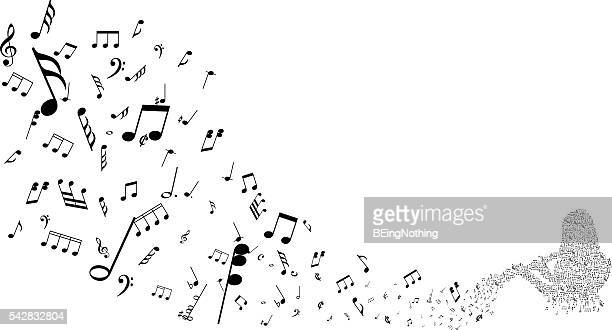 Musical Abstrakter Hintergrund