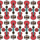 musical british vector seamless  pattern