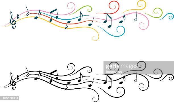 30 Meilleurs Note De Musique Illustrations Cliparts