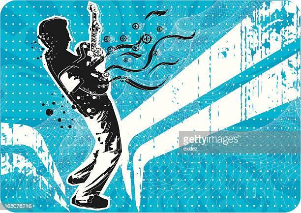 illustrazioni stock, clip art, cartoni animati e icone di tendenza di il design musicale - scenografia