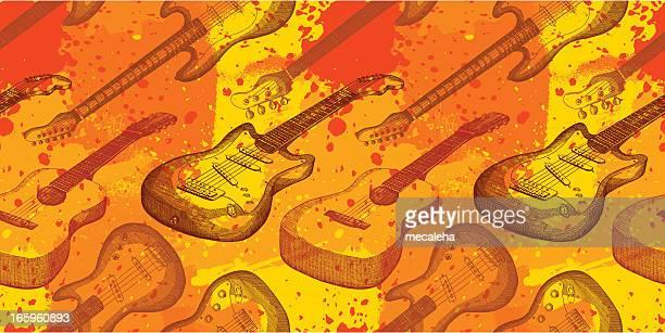 illustrazioni stock, clip art, cartoni animati e icone di tendenza di musica grunge design - rock formation