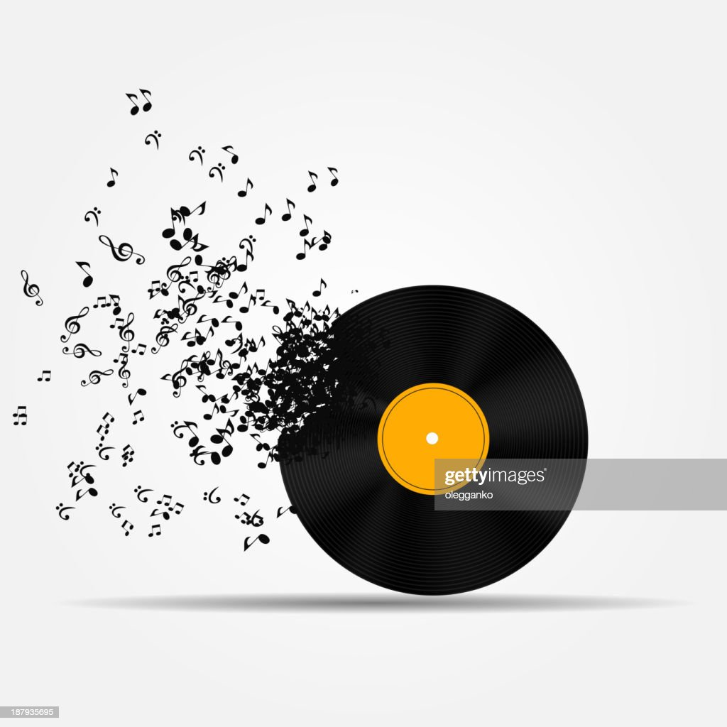 A musical icon vector illustration