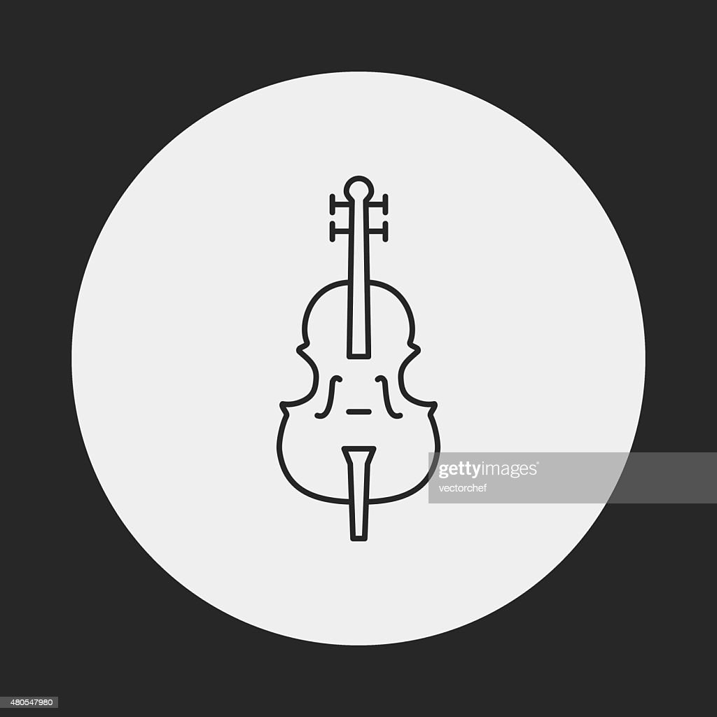musical instrument icon : Vector Art