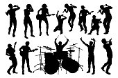 Musician Group Silhouettes