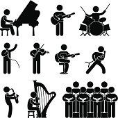 Musician Pictogram