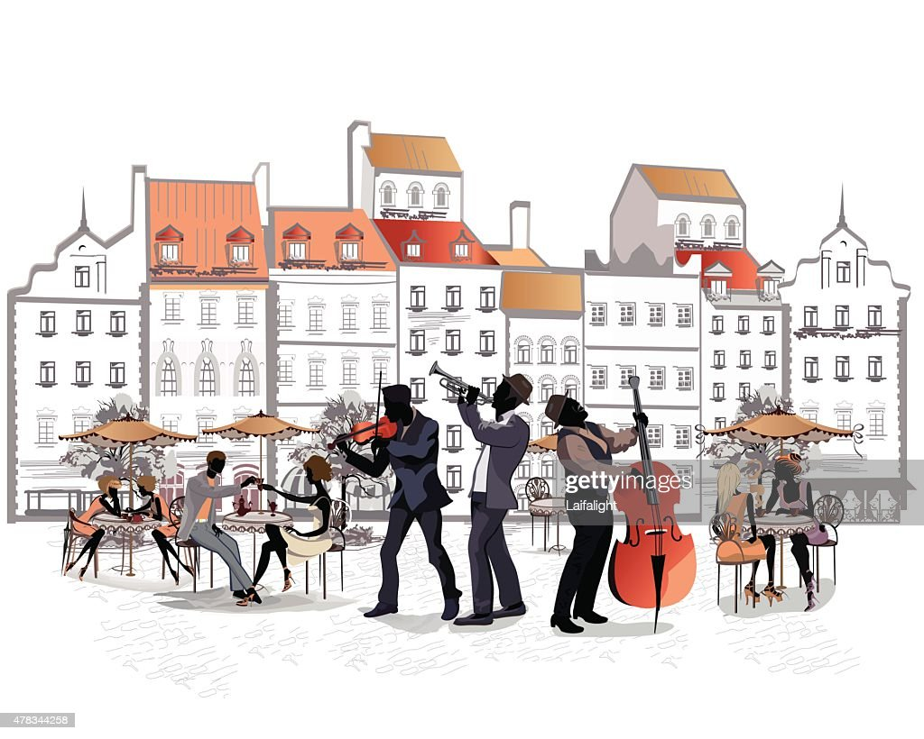 Musicians in the old city