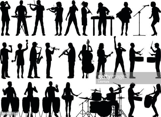 Des musiciens
