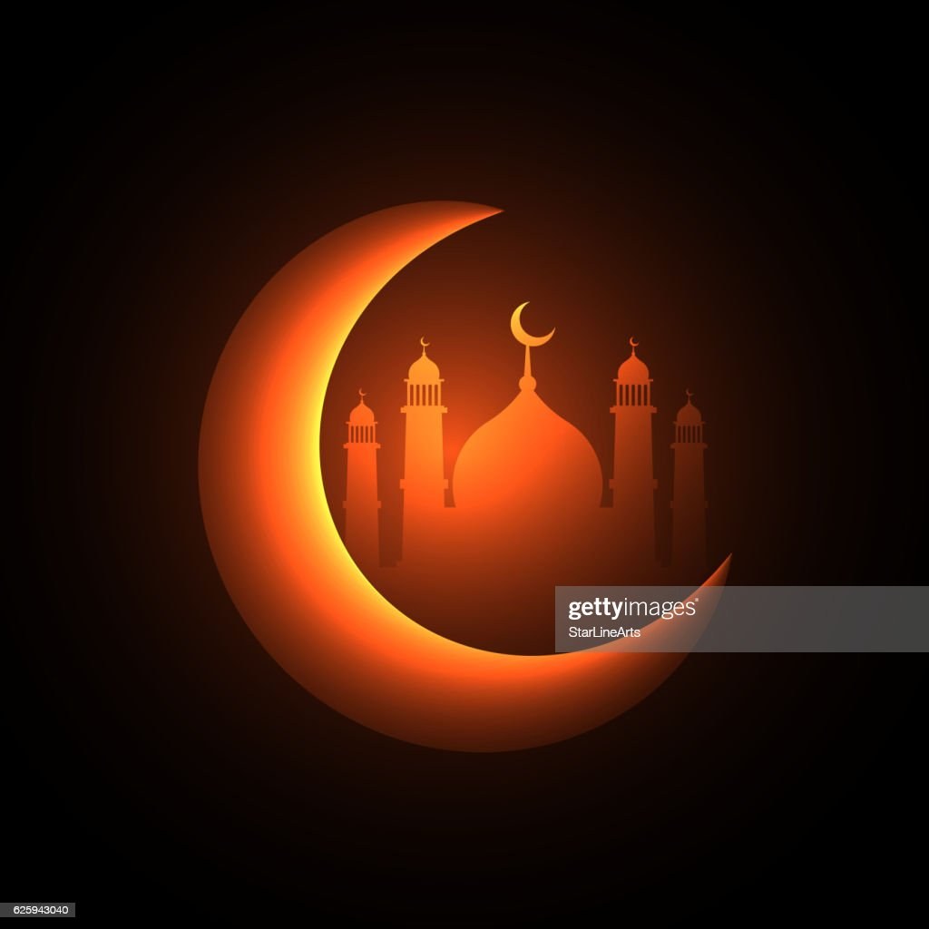 muslim festival background greeting