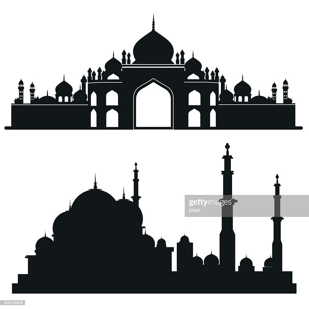 Muslim mosque Vector architecture