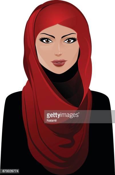 muslim - religious dress stock illustrations, clip art, cartoons, & icons