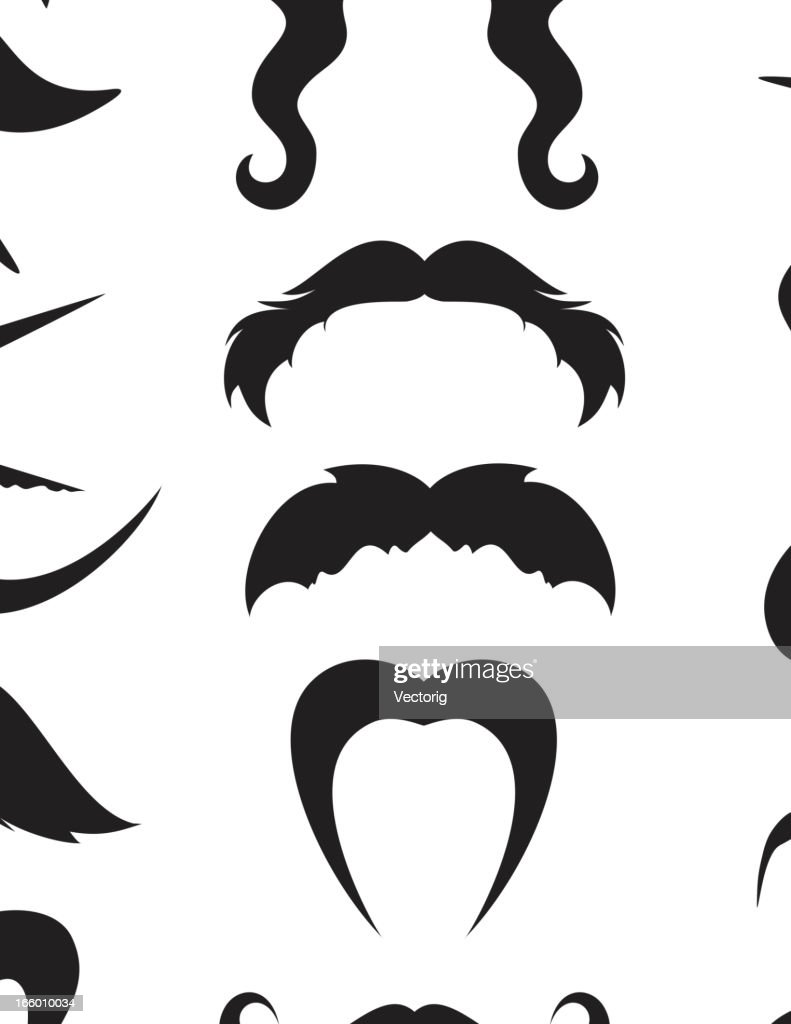 Mustache : stock illustration