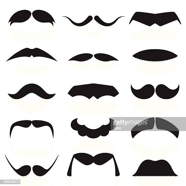 Mustaches Set 01