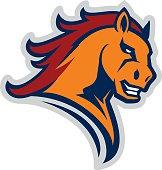 Mustang sport mascot