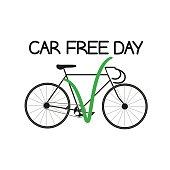 my choice - bike, the International Car Free Day