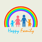 My Family under the rainbow