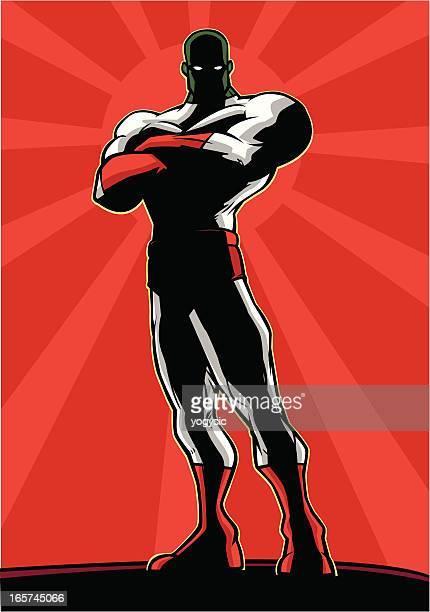 Mysterious Superhero