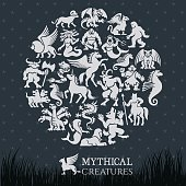Mythical Collage