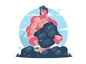 Mythological character of Hercules