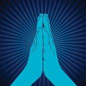 namaskar hand symbol