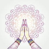 Namaste Decorated