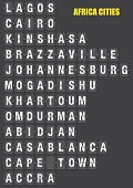 Names of African Cities on Split flap Flip Board Display